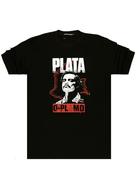 TONY COUPER BLACK PABLO T-SHIRT