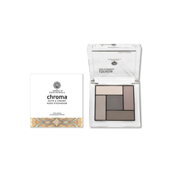 Garden Chroma Satin And Creamy Nude Eyeshadow No.1 Απαλές Μεταξένιες Σκιές 6gr