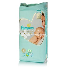 Pampers No.2 (4-8 kg) - Premium Care, 46τμχ.
