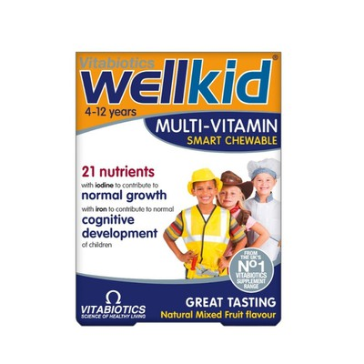 Vitabiotics - Wellkid Multi-vitamin - 30chew.tabs