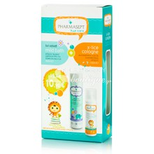 Tol Velvet Σετ Kid Care (Mild Bath 300ml & X-lice Cologne 100ml), 1τμχ.