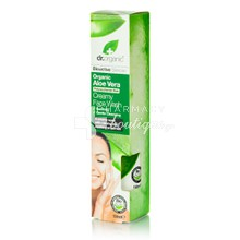 Dr.Organic Aloe Vera CREAMY FACE WASH, 150ml