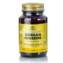 Solgar KOREAN GINSENG - Τόνωση, 50 caps