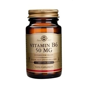 Solgar vitamin b6 50mg