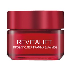 Revitalift face contours   neck