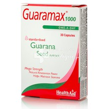 Health Aid GUARAMAX 1000mg - Τονωτικό, 30caps