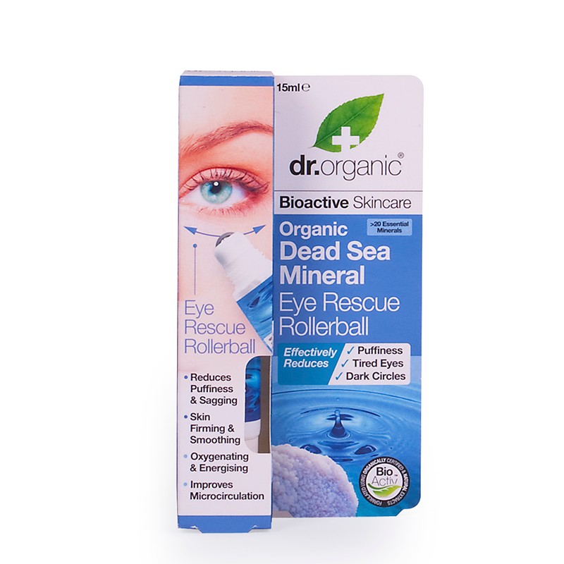 Organic Dead Sea Mineral Eye Rescue Rollerball
