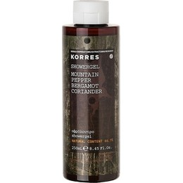 Korres Mountain Pepper/ Bergamot/ Coriander Αφρόλουτρο 250ml
