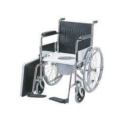 Folding Wheelchair (Big wheels - Container)