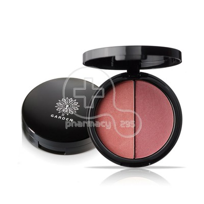 GARDEN - Duo Blush Palette 10 Red Red Wine - 9gr