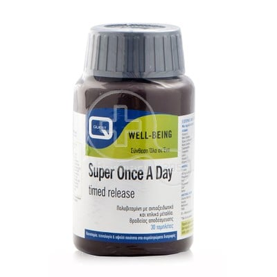 QUEST - Super Once a Day Timed Released - 30tabs
