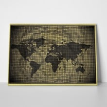 3d antique world map 386298448 a