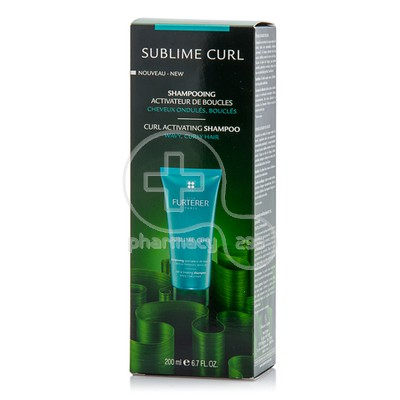 RENE FURTERER - SUBLIME CURL Shampooing Activateur de Boucles - 200ml