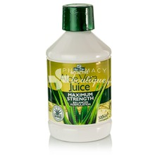 Optima Aloe Vera Juice Maximum Strength - Πέψη, 500ml