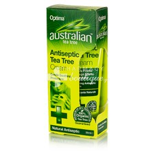 Optima Australian Antiseptic TEA TREE CREAM, 50ml