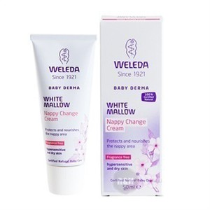 Weleda baby derma white mallow nappy change cream weleda 50 ml