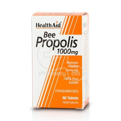 HEALTH AID - Bee Propolis 1000mg - 60tabs