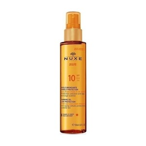 Nuxe suntan oil spf10 150ml