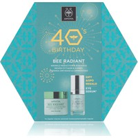 Apivita 40's Birthday Bee Radiant Κρέμα Πλούσιας Υφής 50ml & Δώρο 5-Action Eye Serum 15ml