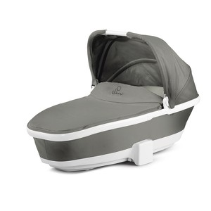 Foldable Carry Cot Grey Gravel