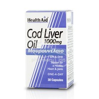 HEALTH AID - Cod Liver Oil 1000mg - 30caps