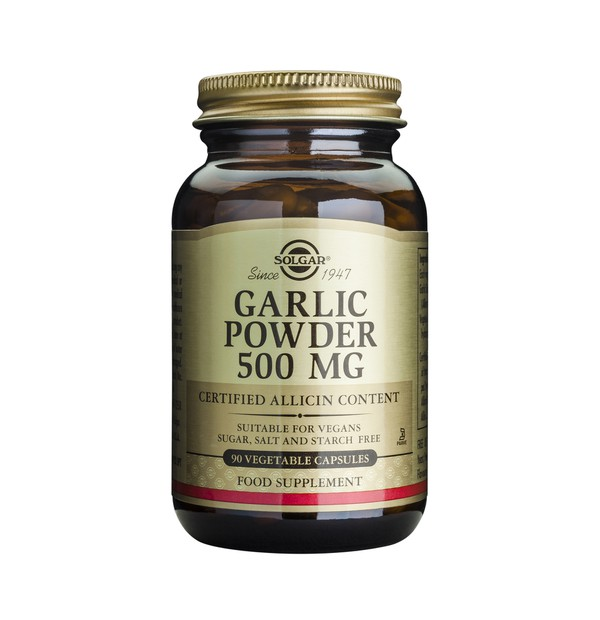 SOLGAR GARLIC 500MG 90CAPS