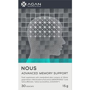 AGAN NOUS Advanced Memory Support 30 caps