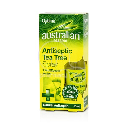 OPTIMA - AUSTRALIAN TEA TREE Antiseptic Tea Tree Spray - 30ml