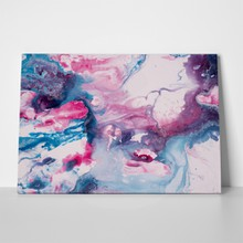 Contemporary blue pink art 551367286 a