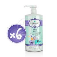 PHARMASEPT - PROMO PACK 6 TEMAXIA BABY CARE Mild Bath 2in1 - 1000ml