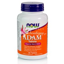 Now ADAM Superior Men's Multiple Vitamin - Προστάτης, 60 tabs