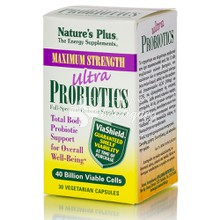 Natures Plus Ultra Probiotics - Προβιοτικά, 30 vcaps