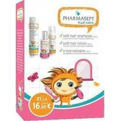 Pharmasept Kid Care Set For Girls - Soft Hair Shampoo 300ml, Lotion X-Lice 100ml & Kid Soft Hair Lotion 150ml
