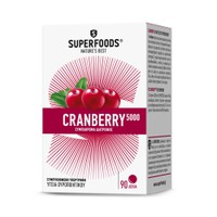 SUPERFOODS CRANBERRY 5000 90TABL