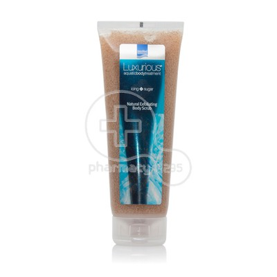 INTERMED - LUXURIΟUS AQUATIC BODY TREATMENT Natural Exfoliating Body Scrub Icing Sugar - 250ml