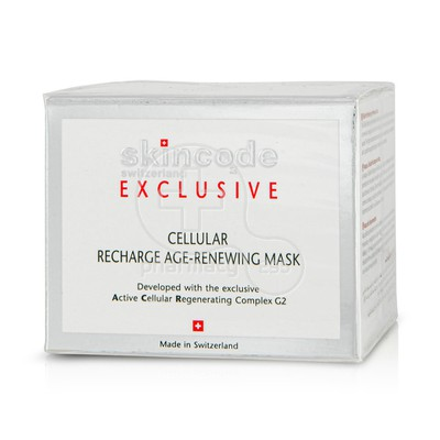 SKINCODE - EXCLUSIVE Cellular Recharge Age Renewing Mask - 50ml