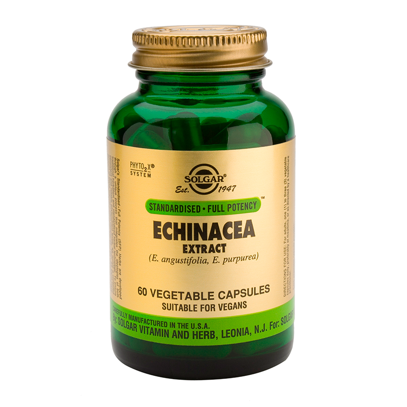 Echinacea Root and Leaf Extract veg.caps