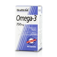 HEALTH AID - Omega-3 750mg - 60caps