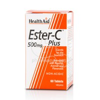 HEALTH AID - Ester C Plus 500mg - 60tabs