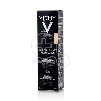 VICHY - DERMABLEND 3D Correction SPF25 Opal (15) - 30ml