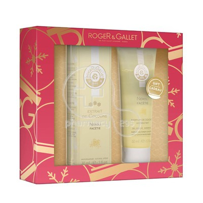 ROGER & GALLET - PROMO PACK NEROLI FACETIE Extrait de Cologne (30ml) ΜΕ ΔΩΡΟ Parfum de Douche Hydratant (50ml)