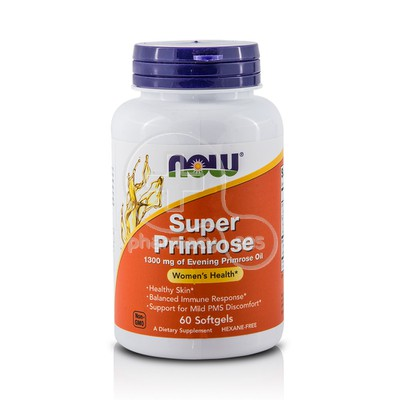 NOW - Super Primrose 1300mg - 60softgels