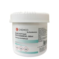 CHEMCO COCONUT OIL REFINED (ΕΛΑΙΟ ΚΑΡΥΔΑΣ) 500ML