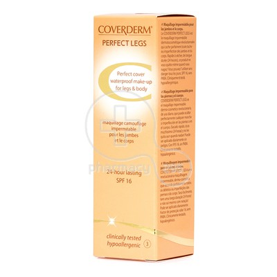 COVERDERM - PERFECT LEGS SPF16 (No3) - 50ml