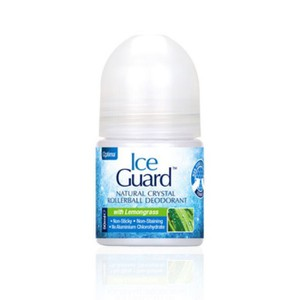 ICE GUARD Natural lemongrass crystal deodorant roll on 50ml