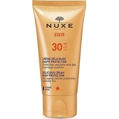 Nuxe Sun Creme Delicieuse Visage Haute Protection SPF30 - Αντιηλιακή Κρέμα Προσώπου, 50ml