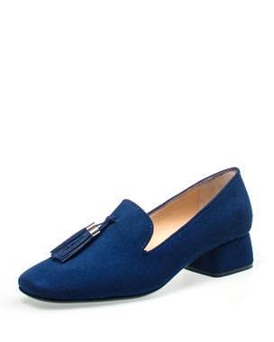 SLIP-ON , MEDIUM HEEL