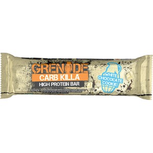 Grenade carb killa 22g high protein bar 60gr white chocolate cookie