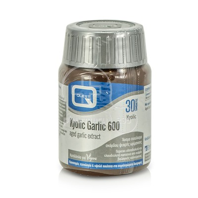 QUEST - Kyolic Garlic 600mg - 30tabs