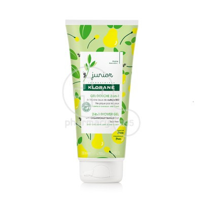 KLORANE - JUNIOR Gel Douche 2 en 1 (Αχλάδι) - 200ml